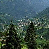 Альпы перевал :: валерий капельян