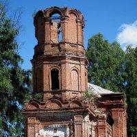 Церковь Воскресения Христова (с. Бурцево, Балахнинский р-н) :: Павел Зюзин