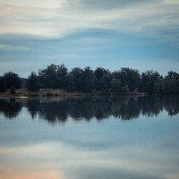 Вечер на озере. :: Снежанна Родионова