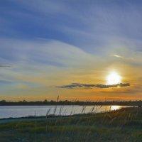 Облачный закат :: юрий Амосов