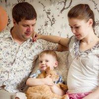 Кот - тоже член семьи! :: Оксана Ларченко
