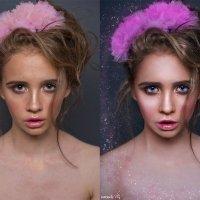Хрустальные слезы фарфоровой феи (до и после) :: Veronika G