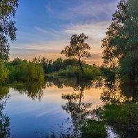 Закат на протоке Оби. 27 июня 2014г. Nokia Lumia 1020 :: Vadim Piottukh