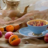 Чашка и фрукты... :: Bosanat