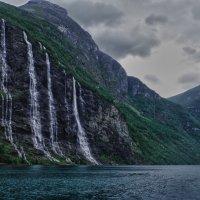 """Водопад """"Семь сестер"""" :: Светлана Игнатьева"""