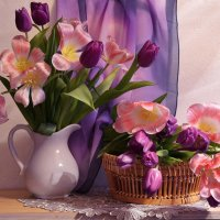 Весна из призрачных мелодий... :: Валентина Колова