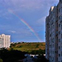 вид из моего восточного окна в конце дня :: Валерий Дворников