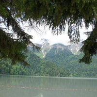 Озеро Рица - жемчужина Абхазии :: Елена Павлова (Смолова)
