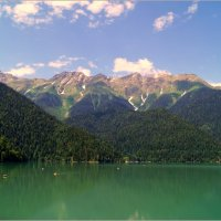 Озеро Рица...Абхазия... :: Наталья Агеева