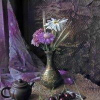 Натюрморт с вишнями :: Aioneza (Алена) Московская