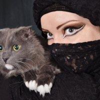 Барсик и Александра :: Julia Miloserdova