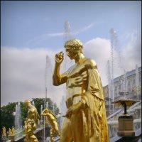 "Скульптура ""Большого каскада"" :: lady v.ekaterina"