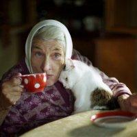 Бабушка Зоя за чаем :: Валерий Талашов