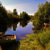 Староладожский канал :: A. Kivi