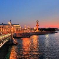 С Дворцового моста :: Сергей Григорьев