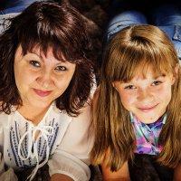 Мама и дочка :: Елена Кудинова