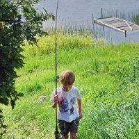 Неудачная рыбалка :: Валерий Талашов