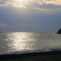 Закат на море :: Алла ZALLA