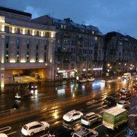 Ночь. Дождь. Лиговский проспект. :: Елена Каталина