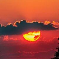 Закат над Шумилином. 27. июля 2014. 02. :: Анатолий Клепешнёв