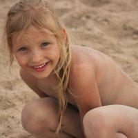 песочный человечек :: Наталья Рубан
