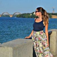 Я на любимой набережной :: Ксения Базарова