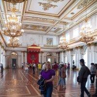 Тронный зал Эрмитажа.Санкт-Петербург. :: Жанна Викторовна