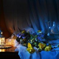Синий вечер... :: Валентина Колова