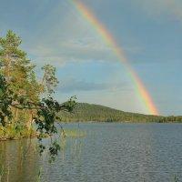 Rainbow over the lake :: Татьяна Баценкова