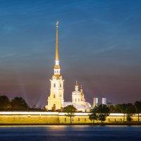 Петропавловская крепость (усеченный вид) :: Владимир Демчишин