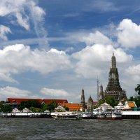 На реке Чао Прайя в Бангкоке :: Игорь '
