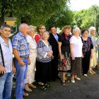 встреча одноклассников через 55 лет 19.07.2014 :: Инна Ивановна Нарута