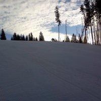 Небесные поля и горных лыж крутые спуски. :: Серж Поветкин