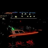 Ночные огни Крыма... :: Нина Корешкова