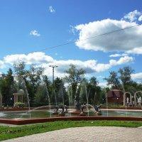 Фонтан дружбы в Петропавловске :: Лариса Рогова