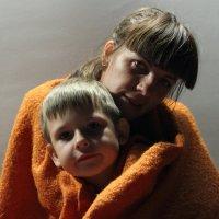 С мамой тепло. :: Larisa Gavlovskaya