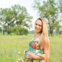 Татьяна в ожидании малышки :: Надежда Баранова