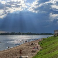 на пляже :: Дамир Белоколенко