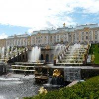 Большой каскад и Большой дворец :: Елена Каталина
