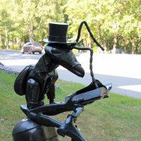 Читающий муравей :: Aнна Зарубина