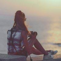 На закате :: Марина
