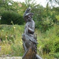 Боденвердер. Cкульптура, иллюстрирующая ещё один случай из жизни Мюнхгаузена. :: Елена Павлова (Смолова)