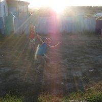 Купание в солнечных лучах :: Дмитрий Агафонов
