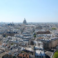 Париж с высоты птичьего полета :: Сергей Лошкарёв