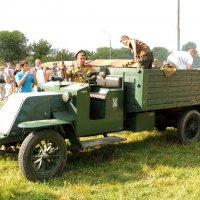 Авто по мотивам Renault ЕР или Renault GZ (1914-1918 г.) :: Александр Качалин