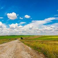 Оо дороге с облаками :: Игорь Соловьев