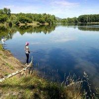 Юные рыбаки :: Любовь Потеряхина