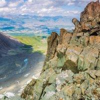 вид с перевала Значкистов :: Дмитрий Кучеров