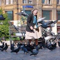 повелительница голубей :: Tanya Savchenko