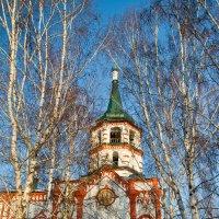 Крестовоздвиженский храм. :: Елена Григорьева